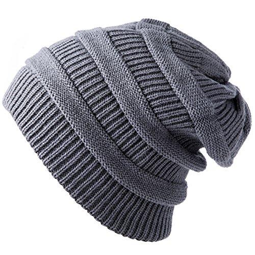 YOUNGDO Daily Knit Beanie, Warm, Stretchy & Sof...