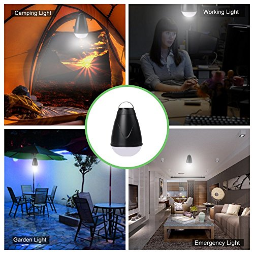 Sbode Camping Lantern, LED Remote Control Rechargeble Water Resistant Outdoor Indoor Portable Tent Light Bulb for Camping, Hiking, Fishing, Garden, Emergencies Photo #7