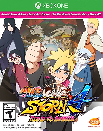 Naruto Shippuden: Ultimate Ninja Storm 4 Road to Boruto - Xbox - Village University Shopping