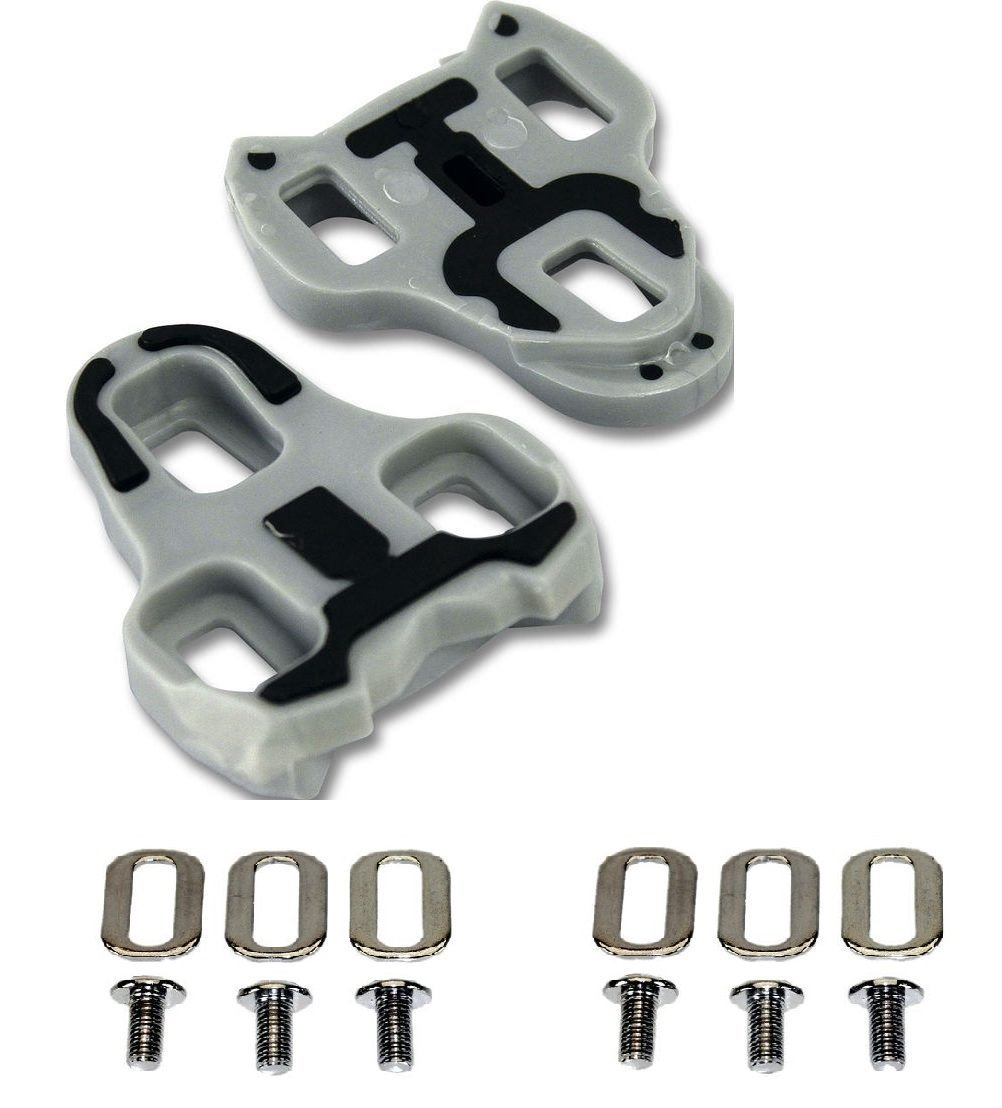 Gio Look Keo Grip Compatible Cleats Grey 4.5 Degree Float