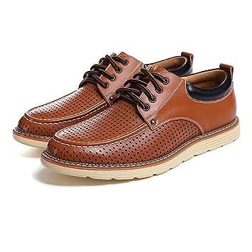 83ebb5d26970fb 2018 Klassische Herren Casual Breathable Perforation Loafers Schuhe  Gentleman Fashion Business Echtes Leder Flache Oxfords (