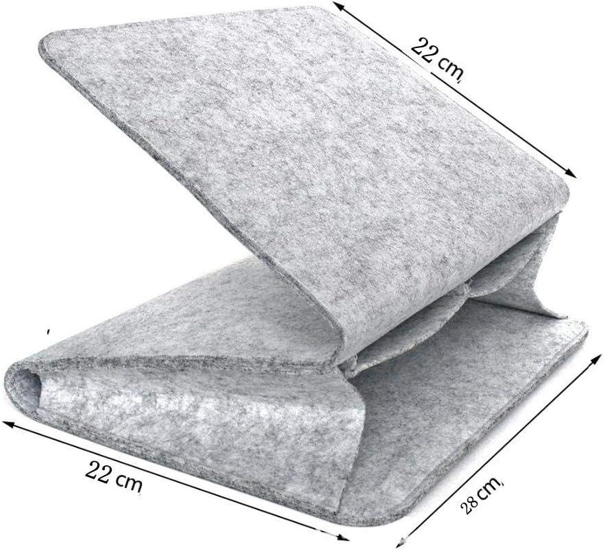 Bolsa organizadora para guardar la cabecera N-A color gris claro