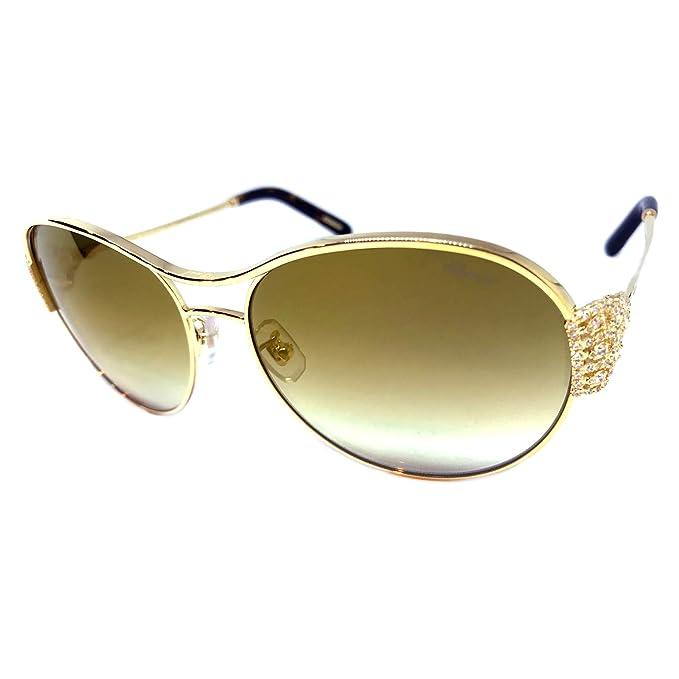 Amazon.com: Chopard SCHC02S - Gafas de sol, color dorado ...