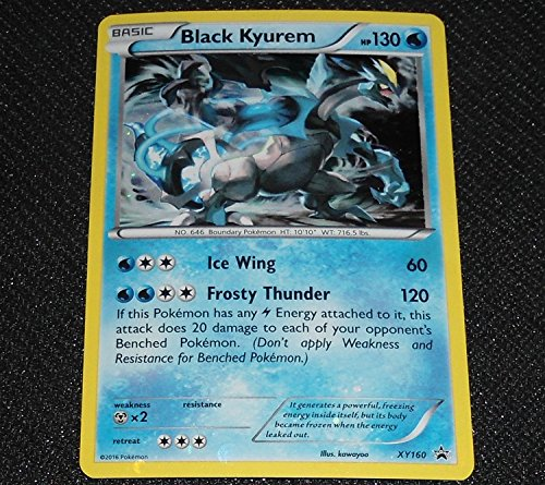Black Kyurem XY160 XY Black Star HOLO Promo NEAR MINT Pokemon Card