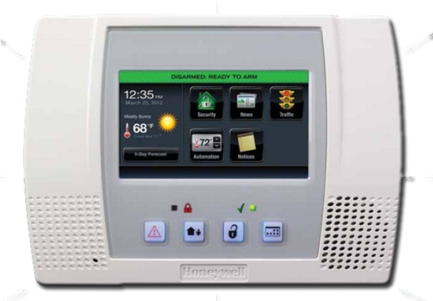 Amazon.com: Honeywell Ademco L5100 Lynx Touch Wireless Alarm Control ...