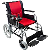 Kosmocare Automate Premium Lightweight Foldable Power Wheelchair - 23 Kgs,( Battery Included )