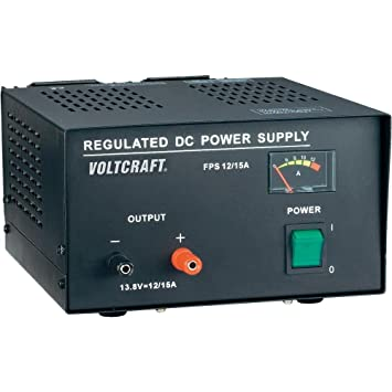 VOLTCRAFT FSP-11312 165W Fixed Voltage Linear Power: Amazon co uk