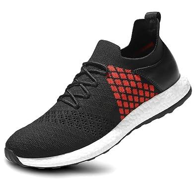 e00a0d1e48664 Zicac Men s Fashion Sports Shoes Leisure Flyknit Mesh Low Trail Running  Shoes (CN42(260