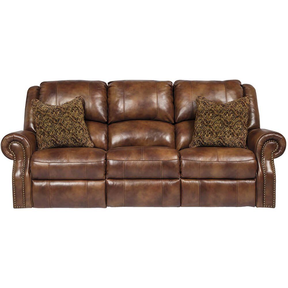 Walworth Power Recliner Sofa - One-Touch Reclining