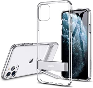 ESR Metal Kickstand Designed for iPhone 11 Pro Max Case, [Vertical and Horizontal Stand] [Reinforced Drop Protection] Flexible TPU Soft Back for iPhone 11 Pro Max (2019 Release), Clear