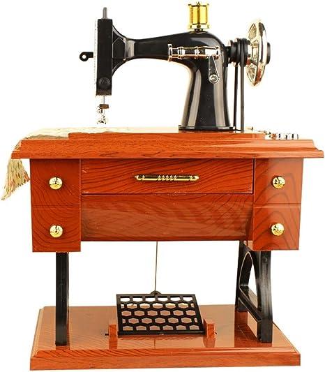Duquanxinquan - Máquina de Coser clásica con diseño mecánico ...
