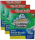 Scrubbing Bubbles Toilet Fresh Brush Flushable Refills (28 count, pack of 3)