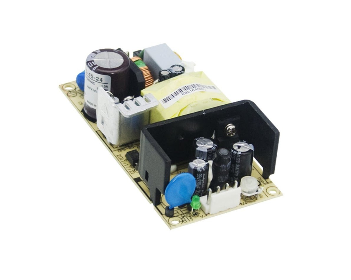 Industrial Open Frame 40W 5V 8A EPS-45-5 Meanwell AC-DC SMPS EPS-45 MEAN WELL Switching Power Supply 4'' x 2''