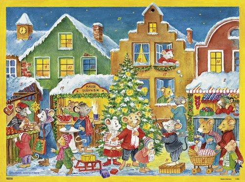 34;Advent im Mäusestädtchen34; Adventskalender