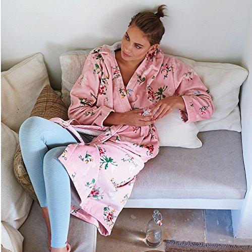 Pip Studio albornoz Granny blanco antiguo, algodón, color rosa., pequeño