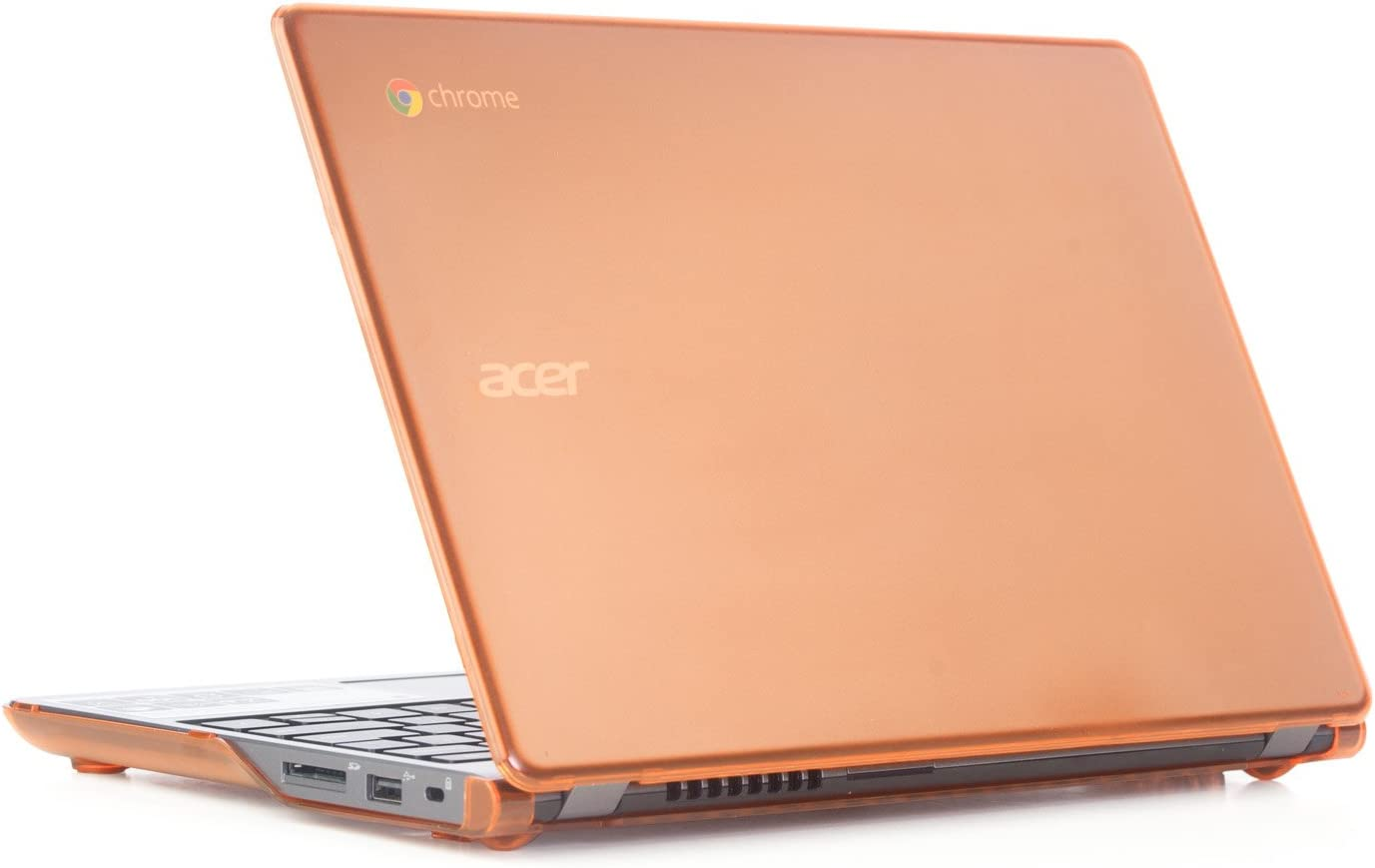 "Orange iPearl mCover Hard Shell Case for 11.6"" Acer C720 C720P C740 Series ChromeBook Laptop (NOT Compatible with Newer 11.6"" Acer Chromebook 11 C730 / CB3-111 / CB3-131 Series Laptop)"