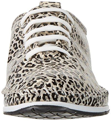 Andrea Conti 0022710, Zapatillas para Mujer, Oro, 37 EU
