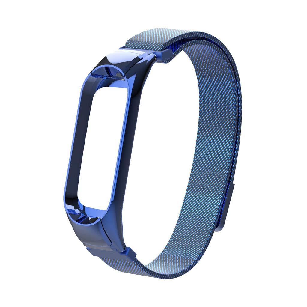 Amazon.com: FeiFei66 Watch Band for Xiaomi Mi Band 3 Watch ...
