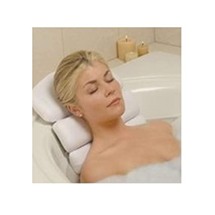 amazon com stock your home luxury spa bath pillow mat features 3