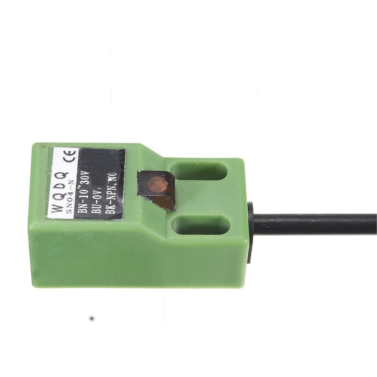 Kungfu Mall SN04-N 5mm Inductive Proximity Sensor Test Switch Approach NPN NO DC10-30V