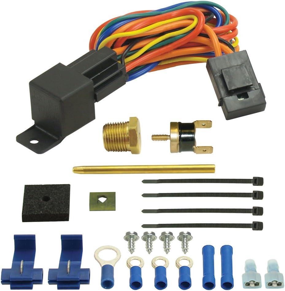 Derale 16735 180 Degree Farenheit Single Stage Electric Fan Controller