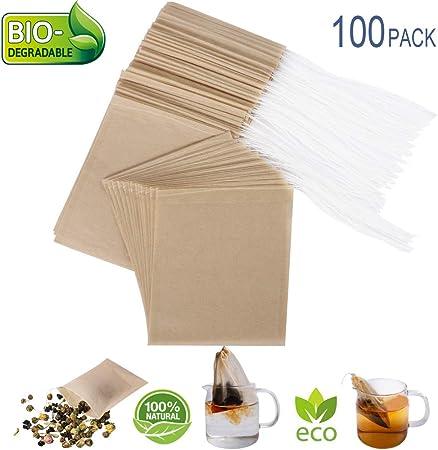Amazon.com: Eco-Fil - Bolsas de filtro de té desechables ...