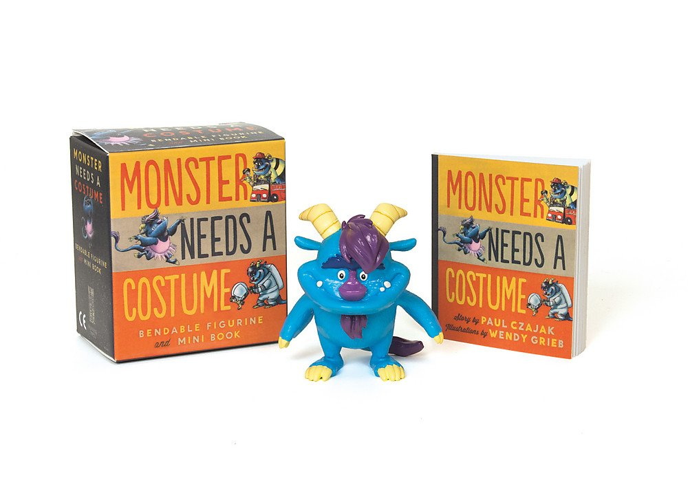 Monster Needs a Costume Bendable Figurine and Mini Book (Miniature Editions) pdf
