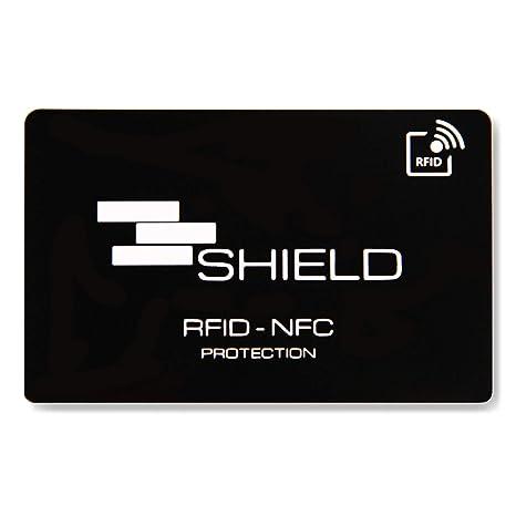 ac13ad96d4 SHIELD Anti RFID e NFC Blocking Card - Protezione per Carte di Credito,  Bancomat e