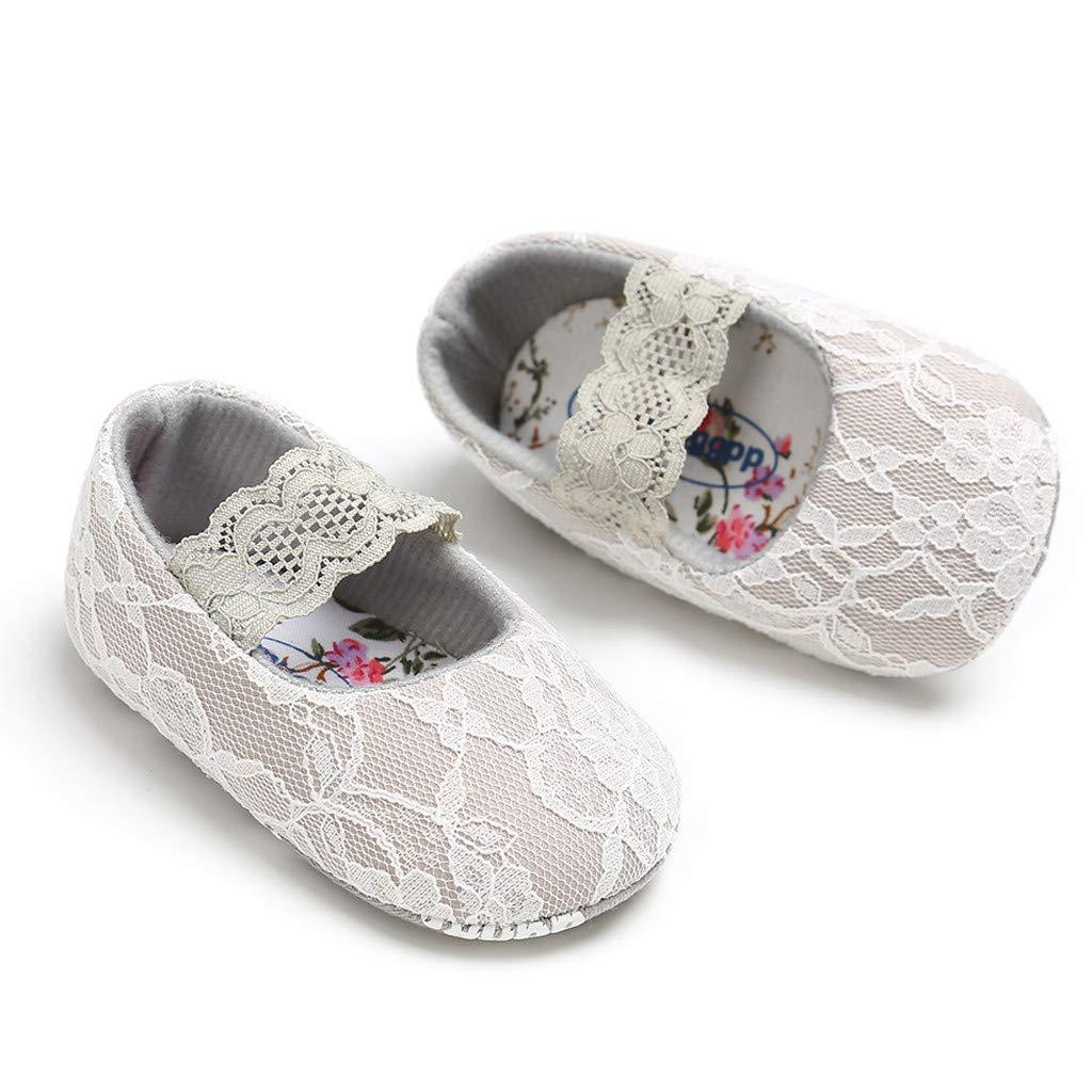 Neugeborenes Baby M/ädchen Spitze Krabbel Schuh Anti-Rutsch weiche Sohle Kleinkind Schuhe Huhu833 Babyschuhe