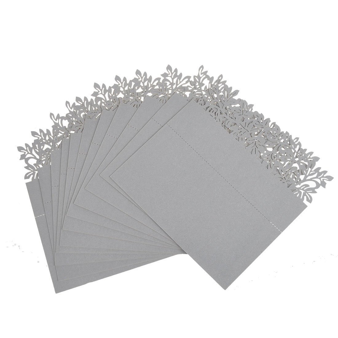 50pcs White Table Name Number PCard Wedding Party Invitation Favor Generic