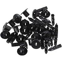 SODIAL(R) 20 x Clip Remache plastico de Tornillo