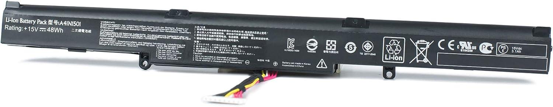 Yafda A41N1501 New Laptop Battery for Asus GL752 N552V N552VX N752 N752V N752VX G752VW GL752VW Series 15V 48Wh