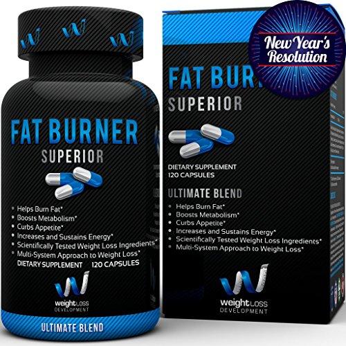 * Vente * Meilleur Fat Burner avec le mélange ultime - la plus innovante dans les Thermogenics nutrition sportive - Qualité supérieure - réduire la graisse du corps perdre du poids - 100% Garantie de Satisfaction - Diet Pills pour la réduction du poids et