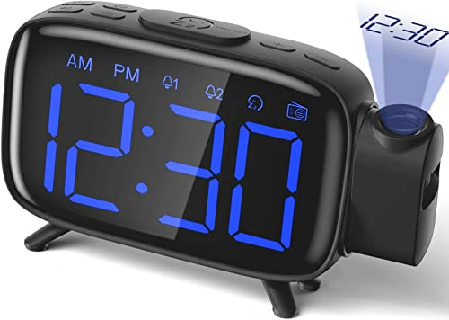 Elehot Projection Alarm Clock