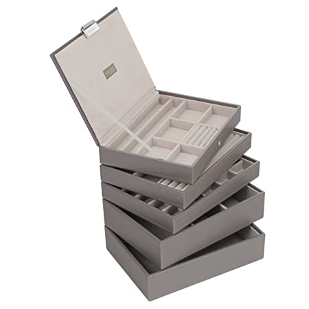 Stackers Mink Classic Jewellery Box - Set of 5  Amazon.co.uk  Kitchen   Home d82a5554fc