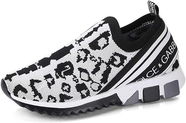 Zapatillas de Plataforma para Mujer Moda Bloque de Color Tejido Transpirable Malla Antideslizante en la Parte Superior Baja Primavera Verano Tallas Grandes 42 Señoras Zapatillas Deportivas: Amazon.es: Zapatos y complementos