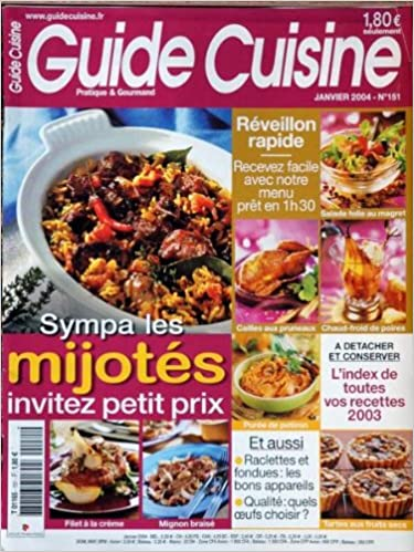 Telechargement Gratuit D Ebook Pdf Guide Cuisine No 151 Du