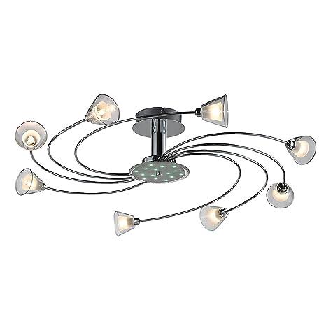 Lámpara de techo, 8 x G9/230 V/42 W de Eco, ESTO: Amazon.es ...
