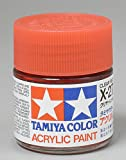 Tamiya Acrylic X27 Gloss, Clear Red TAM81027