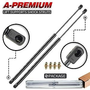A-Premium Tailgate Lift Supports Shock Struts Gas Spring Damper for Nissan Xterra 2001-2004 SportUtility 2-PC Set