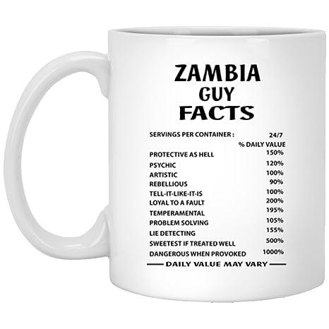 Amazon.com: Zambia chavo datos café taza – tazas de ...
