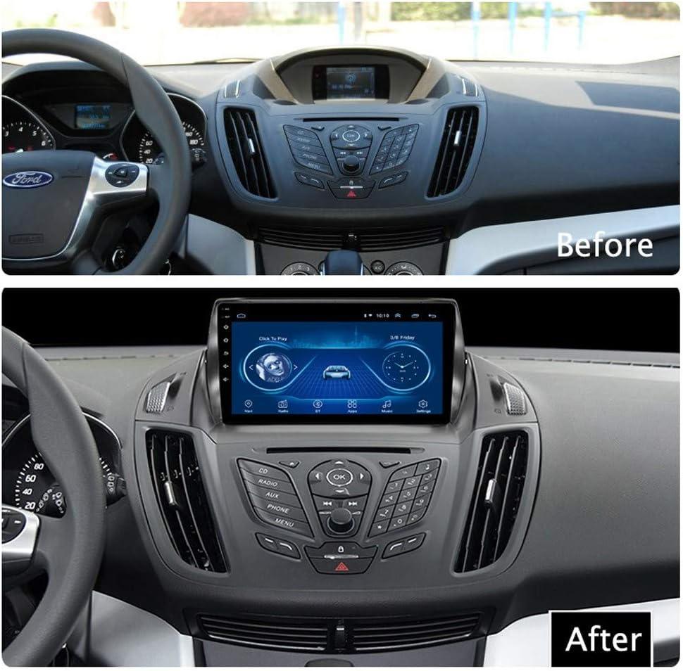 HHttM Android 8.1 Ventas Directas F/ábrica 2.5D Pantalla T/áctil Completa para Ford Kuga Escape C-MAX 2013-2016 Navegaci/ón GPS De Radio del Coche Navegaci/ón por Sat/élite del GPS del Coche