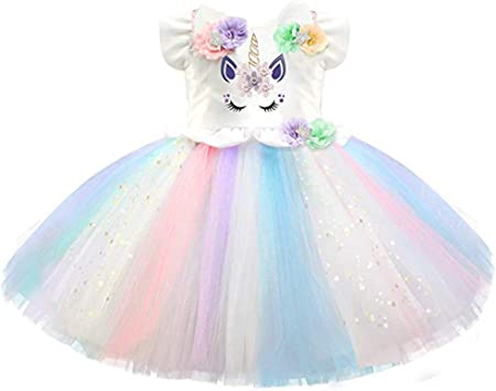 Falda tutú para niñas, disfraz de princesa sin mangas, vestido de ...