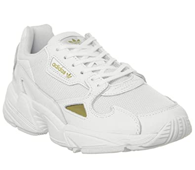 adidas Originals Sneaker Falcon W EE8838 Weiss Gold: Amazon