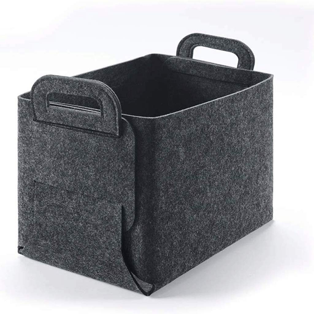 ZLMMY Storage Bins Baskets Cubes Organizer Containers, Detachable Storage Basket,Drawer with Handles Storage Basket Made of Environmentally Friendly Cotton (Size : Big) by ZLMMY