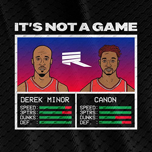 Derek Minor and Canon - It's Not a Game (Single) 2018