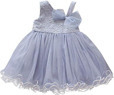 Vestido Tul para Bebe Niña Fiesta Bautiz Primavera Verano 2019 ...