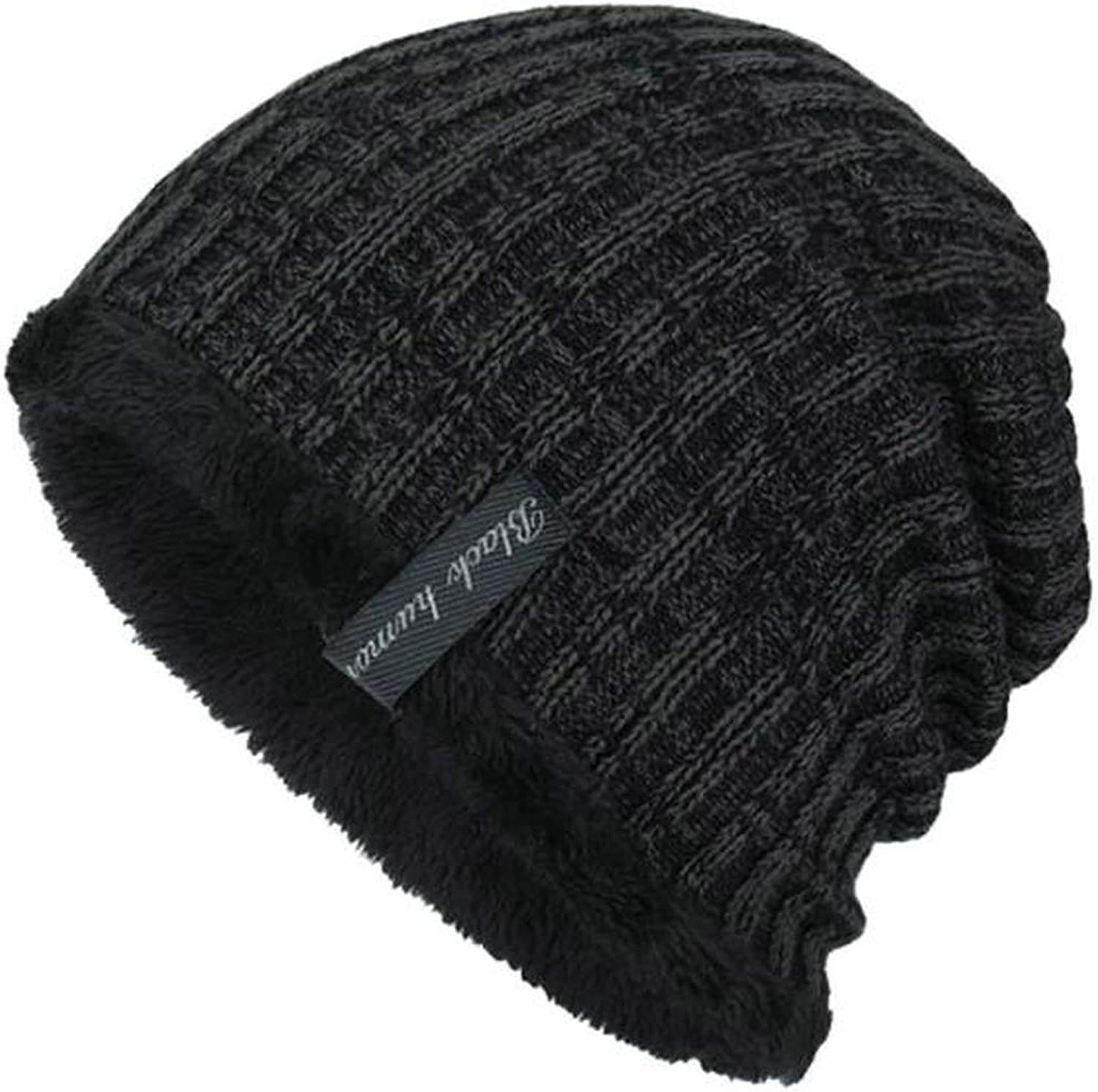 Unisex Knit Cap Hedging Head Hat Beanie Caps Winter Keep Warm Outdoor Fashion Hats Cashmere Casual Solid caps