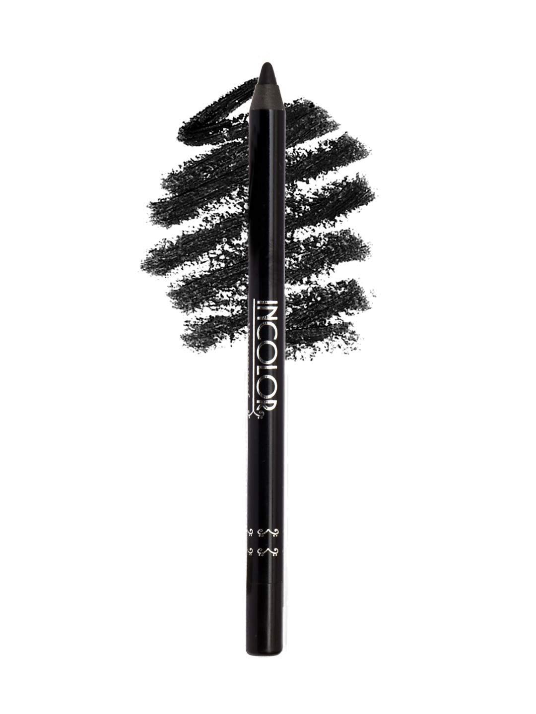 Buy Incolor Waterproof Duarble And Smudge Proof Long Lasting Kohl Kajal Eye Pencil For Women Matte Black Color 1 2 Gram Online At Low Prices In India Amazon In