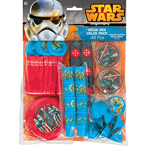 Star Wars Rebels Mega Mix Value Pack Favors, Party Favor -